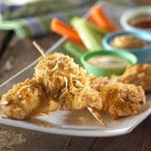 chicken on a stick