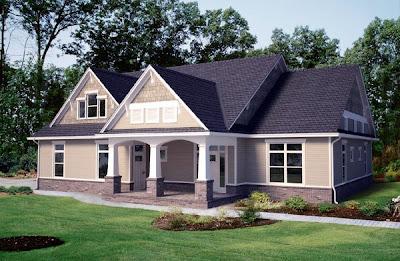 Desain rumah model eropa