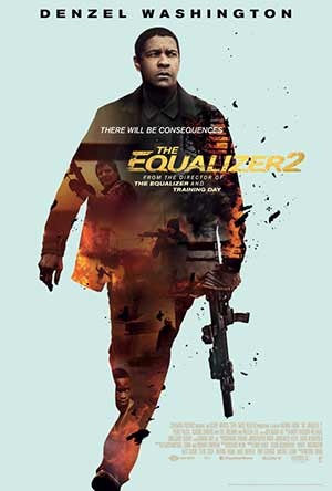 The Equalizer 2 2018 Hollywood 300MB Movie HDTS 480p