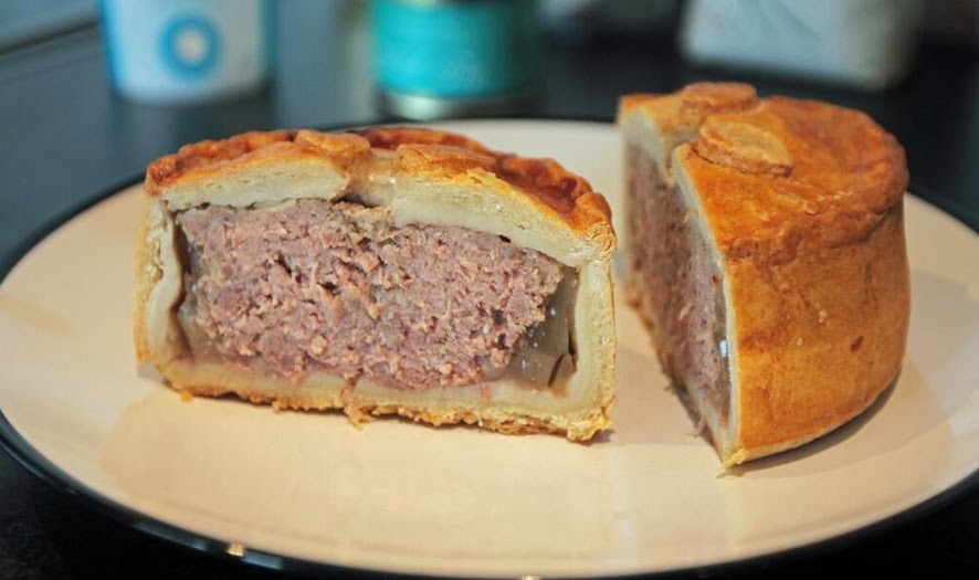 wild boar pork pie