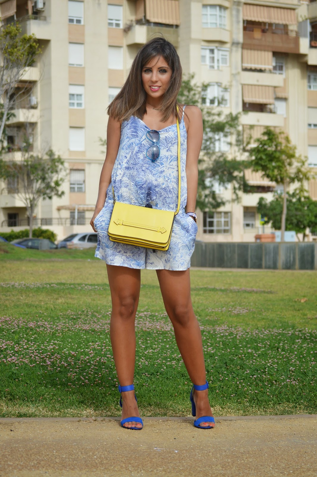 street style style fashion blogger malagueña blogger malagueña outfit look swag purse designer jumpsuit lovely girl inspiration summer tendencias moda mood gorgeous happy mango zara cristina style