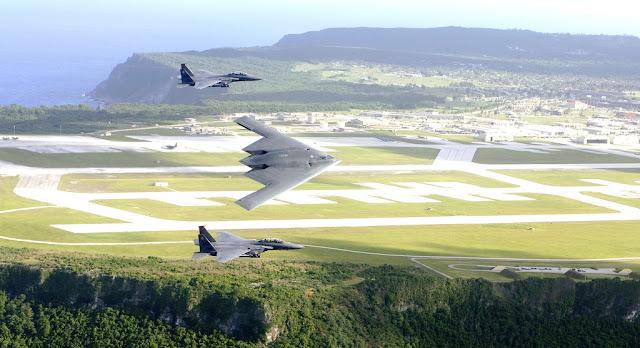 B-2 Spirit and f-15