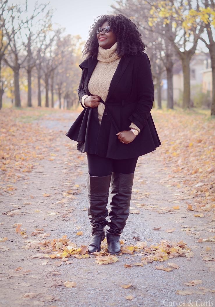 Polo-Neck- Fall outfit idea