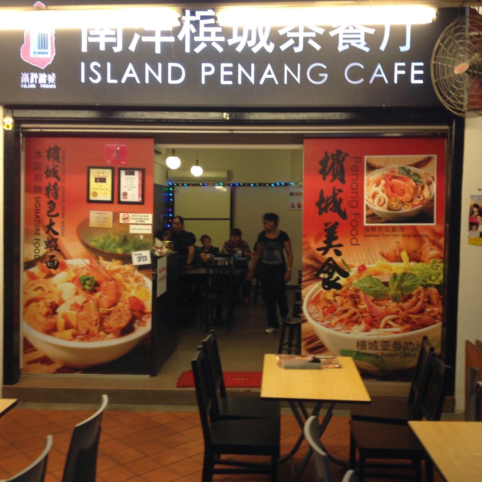 Island Penang Cafe Chinatown