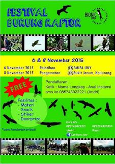 Panitia Festival Burung Raptor