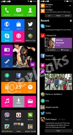 Nokia Normandy UI screenshots leaks online