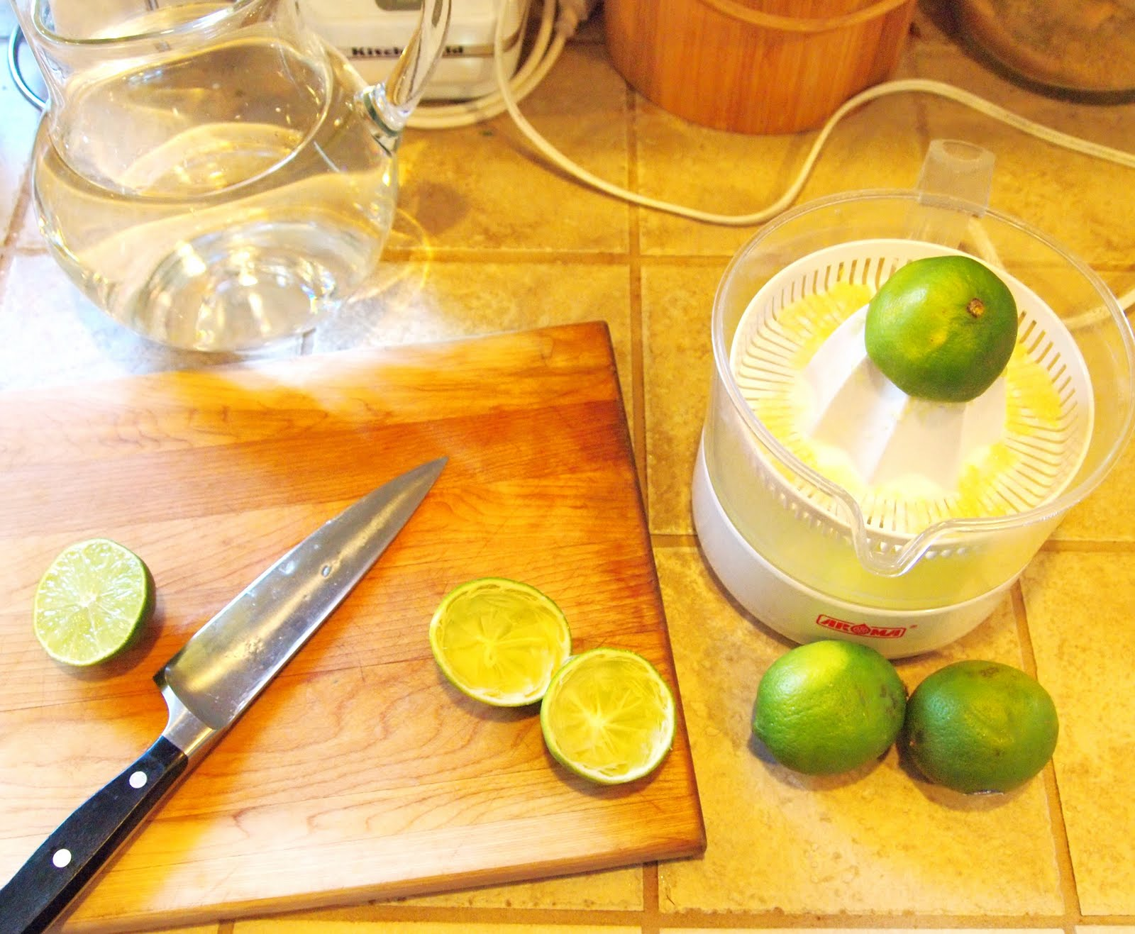 The Alchemist: Fresh Ginger Limeade