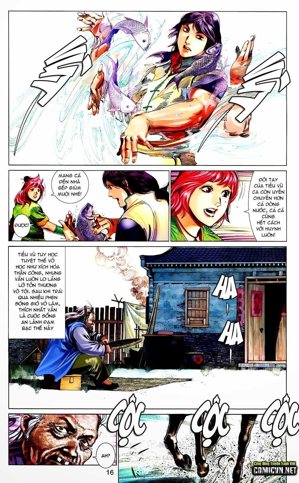 Phong Vân Chap 663 - Trang 16