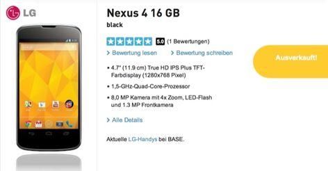 Nexus, Nexus 4, Android Smartphone, Smartphone, Google, LG