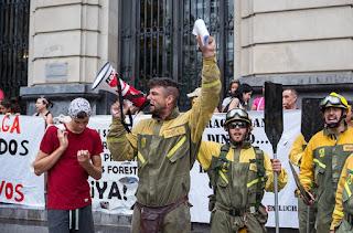 """La ATBrif valora los tres días de huelga de """"rotundo éxito"""""""