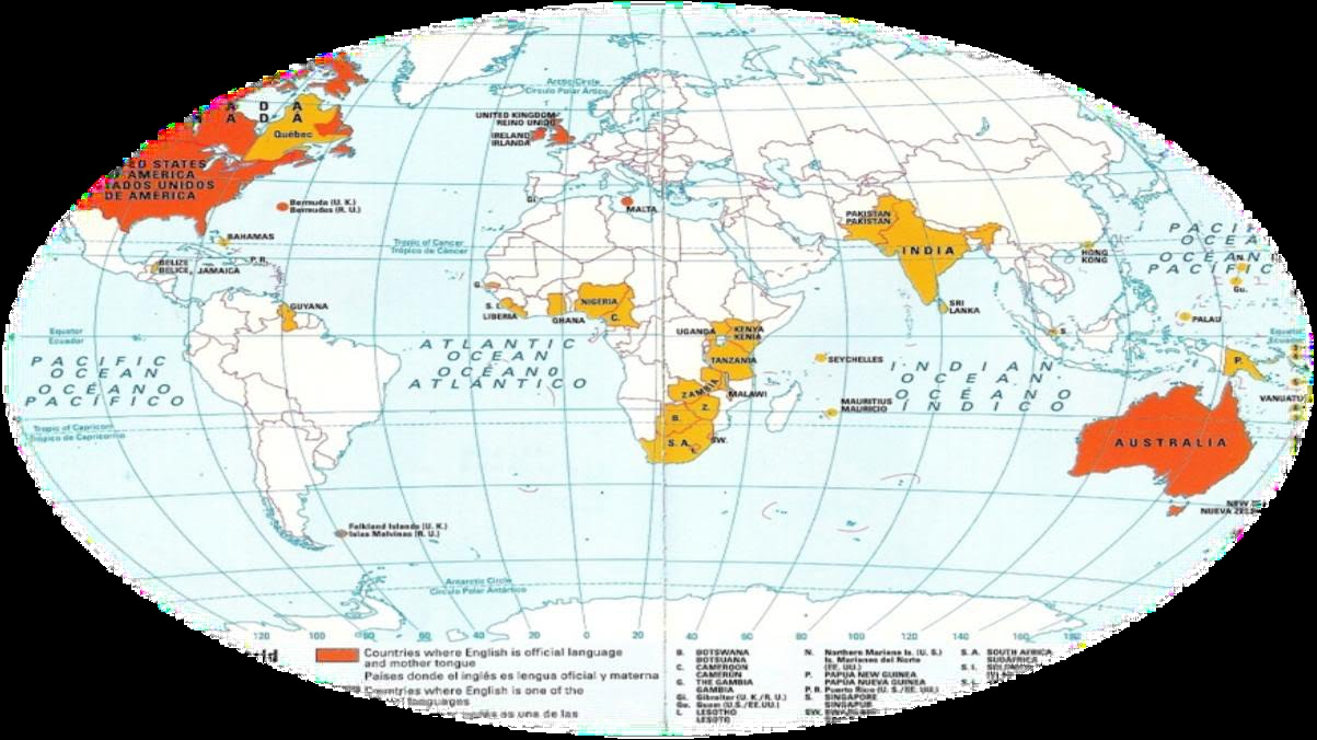 HISTORY OF THE ENGLISH LANGUAJE ENGLISH AS AN INTERNATIONAL LANGUAGE - How many international languages in the world