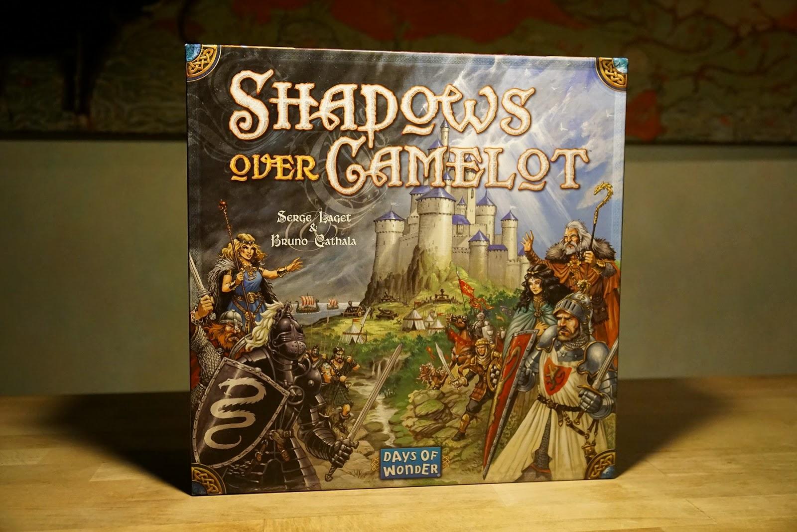 Recensione shadows over camelot storie di battaglie - Re artu ei cavalieri della tavola rotonda libro ...