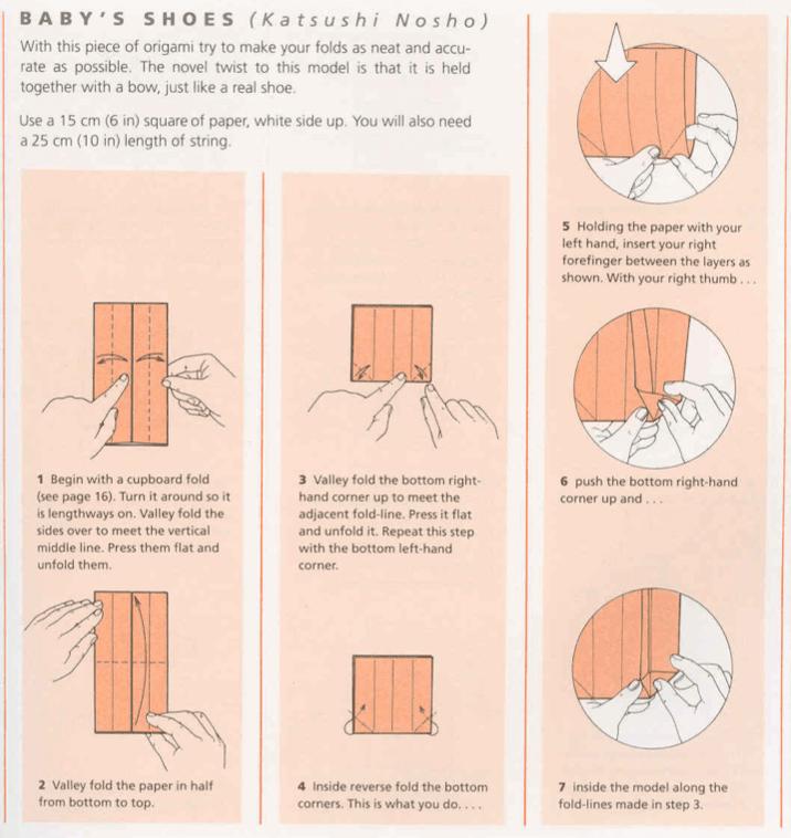 origamis da mary sapatinhos de beb234 lembrancinha para