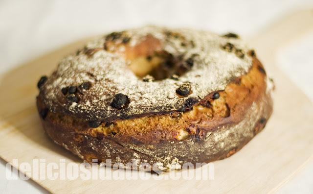 deliciosidades - Pan dulce de pasas y canela al estilo de Dan Lepard