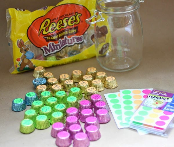 50 Reasons Why I Love You - Reeses Pieces