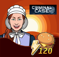 Criminal Case : Solve Mystery And Get 1 Burger