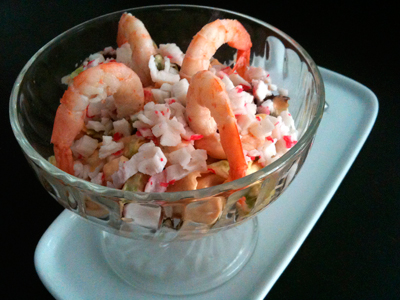Cocina con anibal - Coctel de marisco ingredientes ...