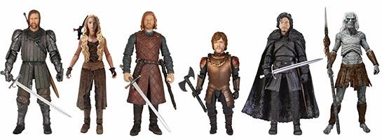 Funko Legacy figuras articuladas de acción de Juego de Tronos - Juego de Tronos en los siete reinos