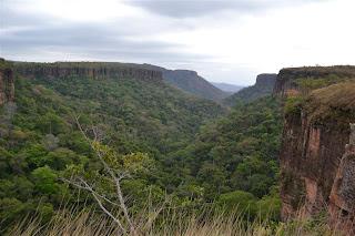 chapada dos guimaraes historia - mirante da cachoeira
