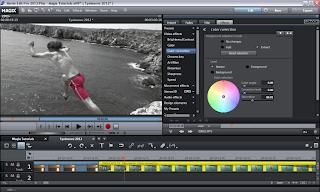 Video Color Correction in Magix Movie Edit Pro Plus