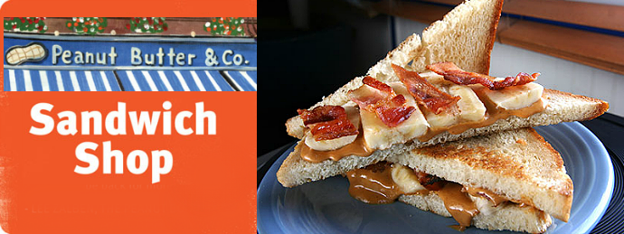 Peanut Butter and Co Sandwich Shop