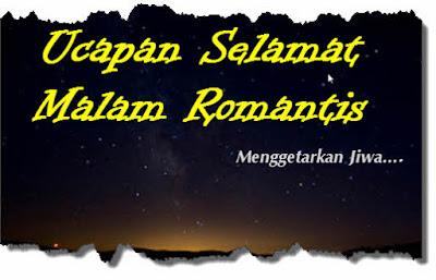 kata ucapan selamat malam romantis