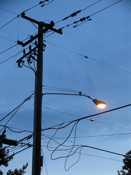 Dibujos postes de luz - Imagui