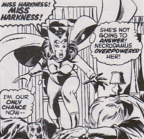 Avengers #128, the Scarlet Witch and Agatha Harkness