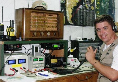 PY5SQL JEAN em sua estação com o IC-718