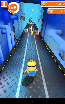 Despicable Me: Running without getting hit