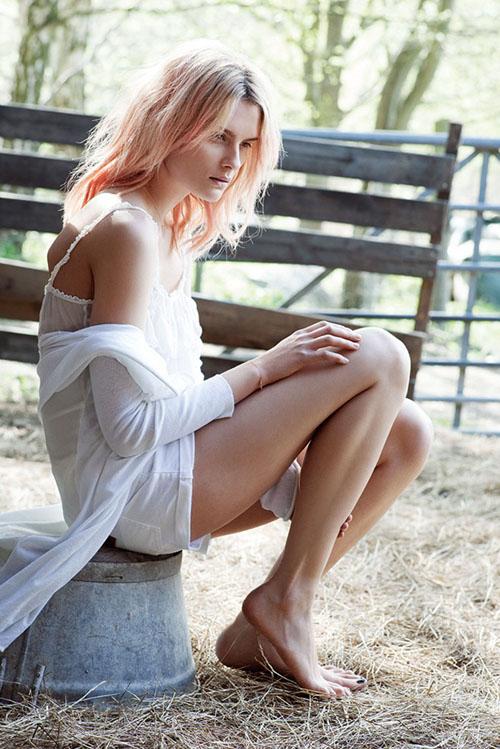 Russian Model Elena Melnik