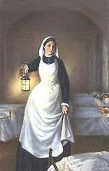 dama de la lampara