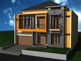 Desain arsitektur rumah minimalis 3