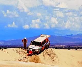 Dakar Por Bolivia - Luis Barbery - Dakar 2014 - Uyuni
