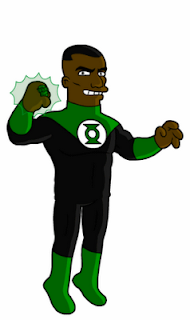 Linterna_Verde_DC_Comics_Simpson