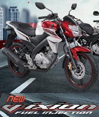 Gambar Asli Motor Vixion New 2013