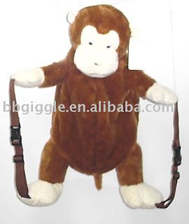 tas berbentuk monyet