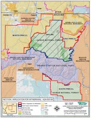 Arizona Geology: Another lawsuit against Arizona mining ban