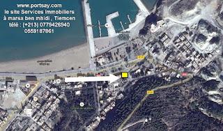 Location terrain à marsa ben mhidi 811m²