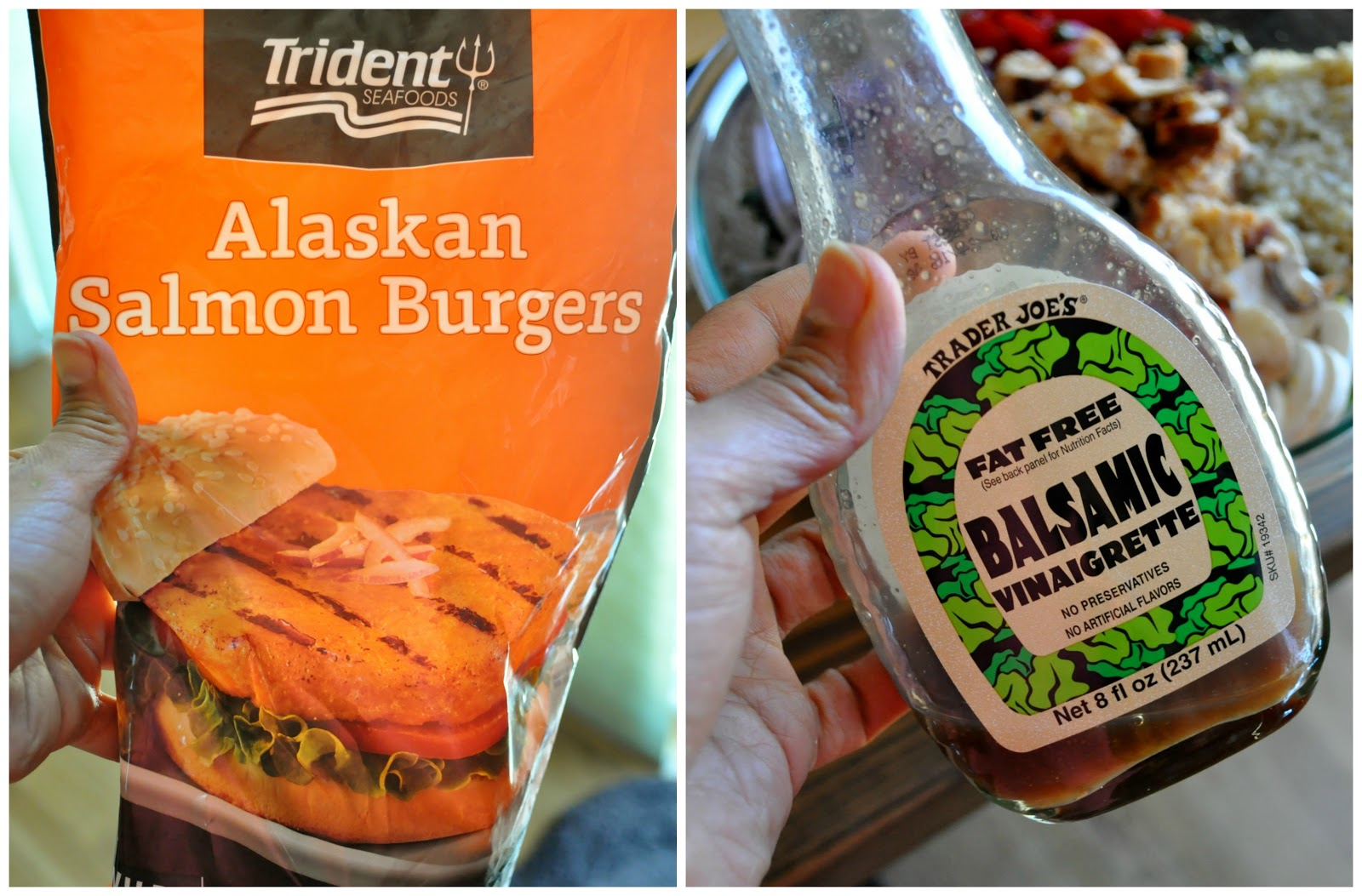 A healthier fitter me latest go to lunch featuring healthy i mentioned these two items on my latest what i ate today vlog fyi i buy the wild alaskan salmon burgers at costco ccuart Gallery