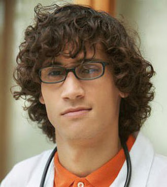 #6 Shocking Hairstyle for Boys Curly Hair