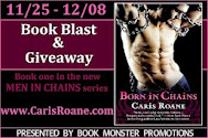 Caris Roane's BORN IN CHAINS Book Blast  & Giveaway!