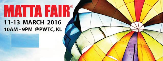 jadual dan tarikh MATTA Fair 2016