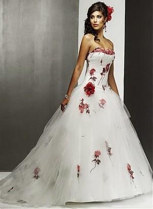 vestidos de novia con pedreria roja – vestidos baratos