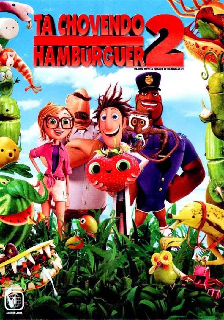 Tá Chovendo Hambúrguer 2 Torrent - Blu-ray Rip 720p Dublado (2014)