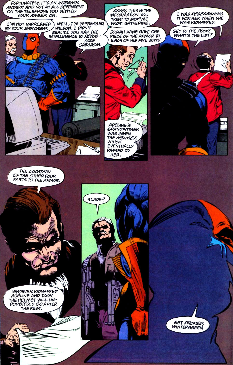 Deathstroke (1991) Issue #28 #33 - English 19