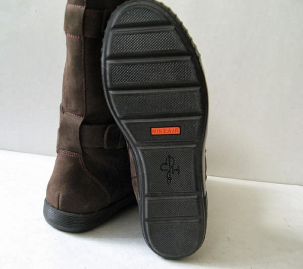 closet cole haan nike air brown leather motorcycle