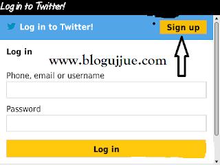 Cara Membuat Akun Twitter Langsung Dari Hp