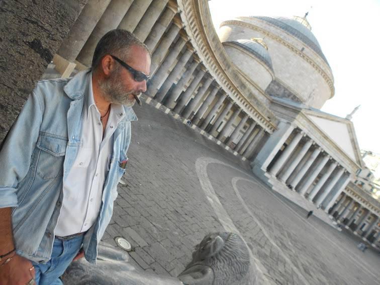 Napoli - Piazza del Plebiscito Colonnato San Francesco di Paola