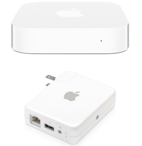 AirMac Express のPPPoE設定とWi-Fi 設定